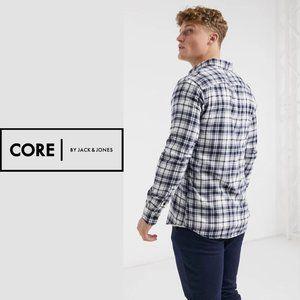 Jack + Jones Core Workwear Flannel - Size Small